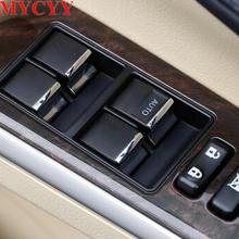 BJMYCYY переключатель стеклоподъемника для автомобиля, украшение, блестки для Toyota Camry, автомобильные аксессуары, Стайлинг автомобиля
