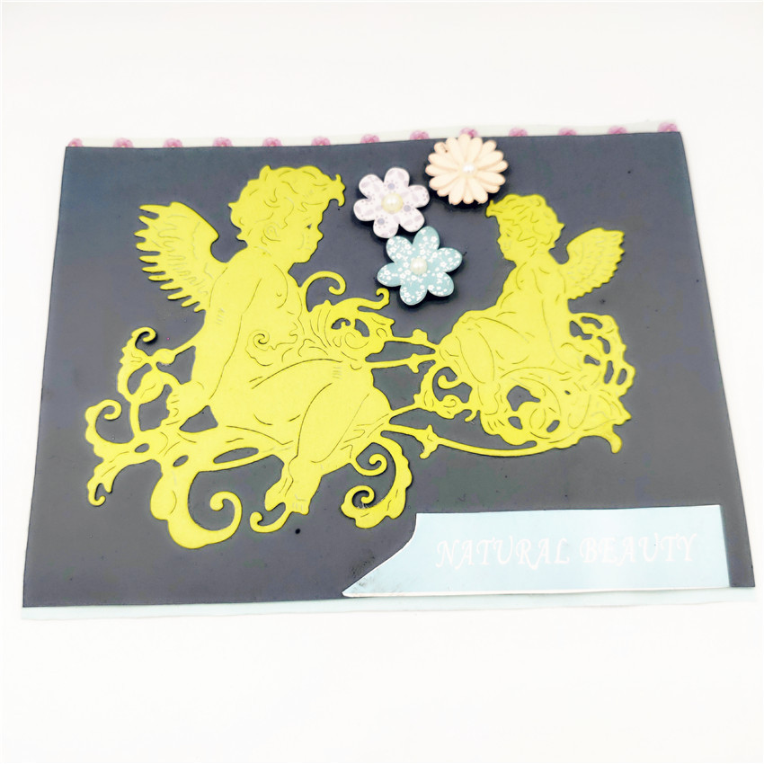 ZhuoAng New design cutting mold making DIY clip art book decoration embossing mold NH 014 in Cutting Dies from Home Garden