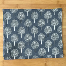 50x150cm Cotton Linen Fabric Print Black or White Fortune Tree DIY Home Deco Table Cover Throw Pillow Case Cover