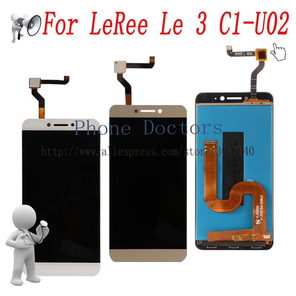5,5 ''Voll LCD DIsplay + Touchscreen Digitizer Assembly Für LeEco Letv LeRee Le 3 C1-U02