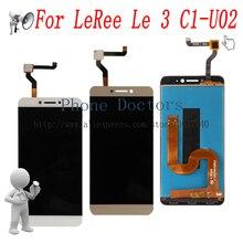 5.5 tam LCD ekran + dokunmatik ekranlı sayısallaştırıcı grup için LeEco Letv LeRee Le 3 C1 U02