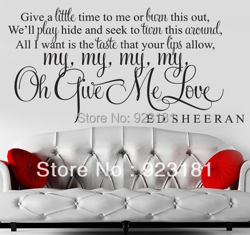 Song Lyric Wall Art popular art song lyrics-buy cheap art song lyrics lots from china