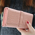 2017 Women Ladies Retro Wallets Purse Hot Sale Long PU Handbags Card Holder Bags Gift High Quality Free Shipping J426