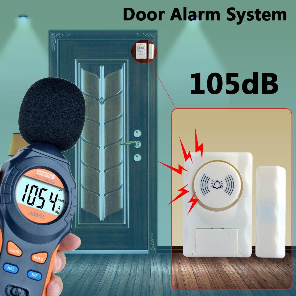 Etiger Wireless Home Security Door Window Alarm warning System Magnetic Door Sensor high quality hot sale 100db wireless alarm system burglar safely security window door home magnetic sensor best promotion