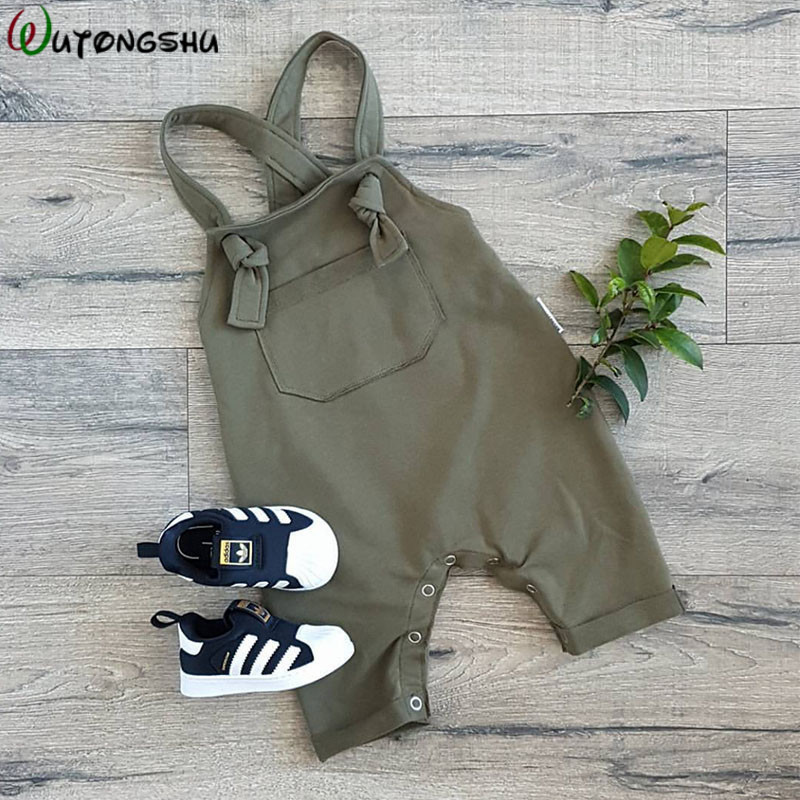 Fashion Baby Pants Autumn Winter Newborn Girls Boy Overalls Toddler Pants Baby Suspender Trousers Solid Leggings For Kids
