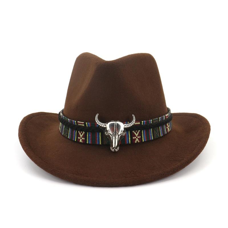 Wide Brim Western Cowboy Hat  1