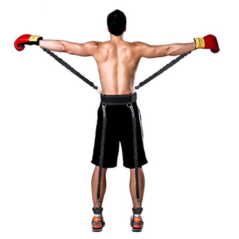 Bounce Trainer Resistance Bands Agility Pull Rope for Boxing Workout Jump Leg Strength Agility Training Strap Fitness EquipmentBounce Trainer Resistance Bands Agility Pull Rope for Boxing Workout Jump Leg Strength Agility Training Strap Fitness Equipment