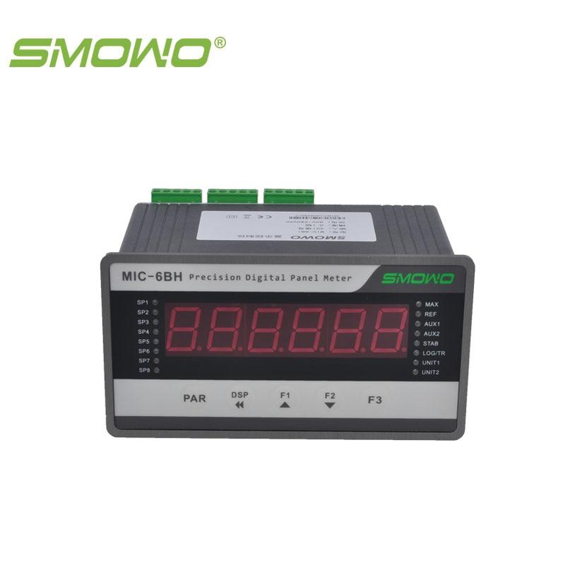 MIC-6BBH controller/indicator/meter  high speed high precision 6 digit display SMOWO mic o mic конструктор автомобиль гоночный малый