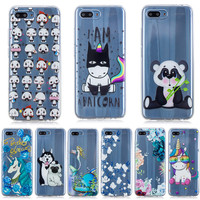 100pcs Case for Huawei Honor Play Soft TPU Silicone Cover for Huawei Honor 10 Cover Case Coque for Huawei Honor 10 funda Capa