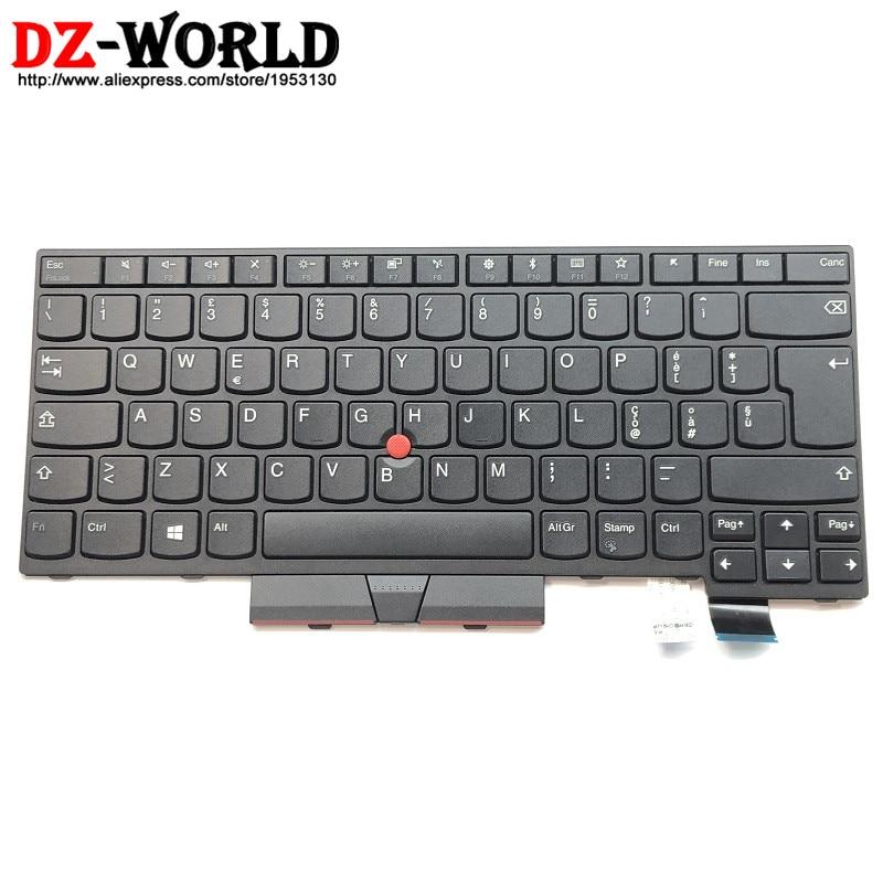 New Original for Lenovo Thinkpad T470 A475 T480 A485 IT Italian Keyboard Teclado Non Backlit 01AX463 SN20L72784 new original for lenovo thinkpad t470 t480 a475 us english backlit keyboard backlight teclado 01ax569 sn20l72890 01ax487 01ax528