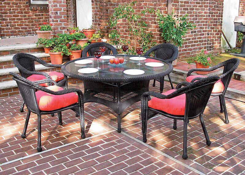 Hot Sale outdoor dining furniture garden patio rattan ...