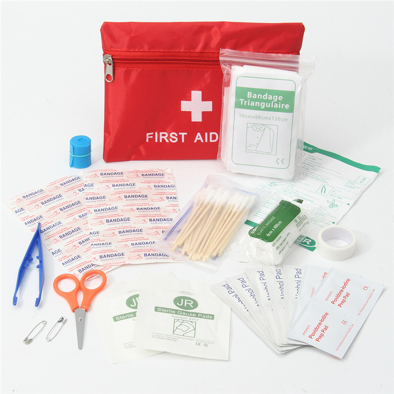 Safurance Waterproof Mini Outdoor Travel Car First Aid kit Home Small Medical Box Emergency Survival kit Household Medical 19pcs high quality outdoor travel first aid kit car first aid bag home small medical box emergency survival kit size 21 13 5 5cm