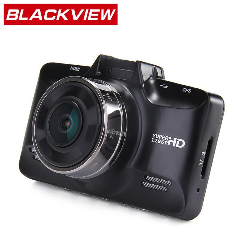 "imágenes para GS98C Blackview Coche DVR de Ambarella A7 2.7 Pulgadas FHD Dash Cámara 1296 P 30fps Dashcam 178 ""HDR F1.8 5.0MP GPS H.264 G-sensor"