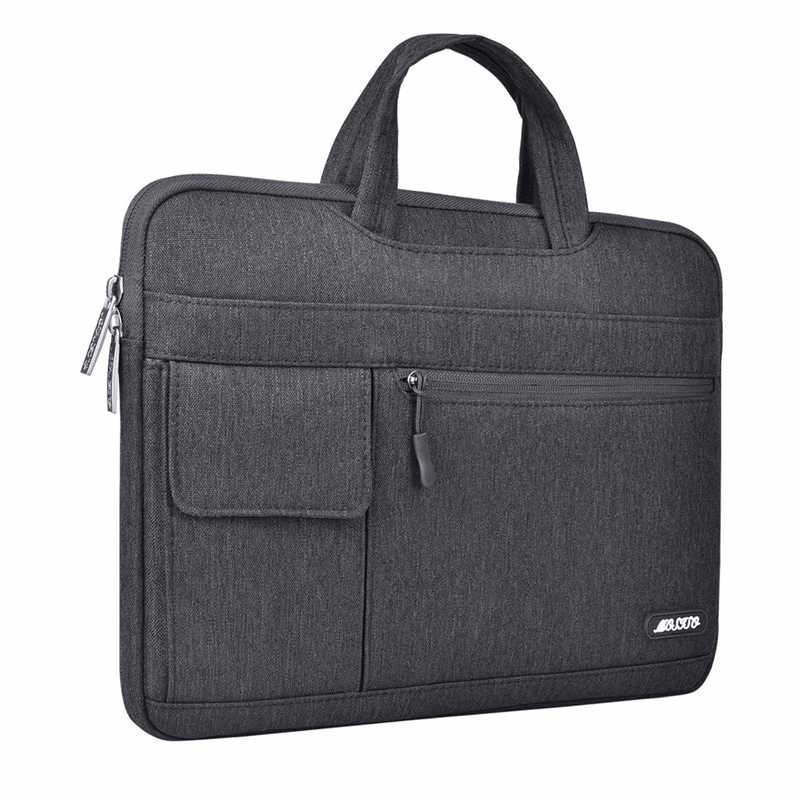 MOSISO 2019 حقيبة لابتوب 13.3 14 15.6 بوصة مفكرة ماء الكتف شنطة لحمل macbook الهواء برو 13 15 الكمبيوتر حقيبة يد