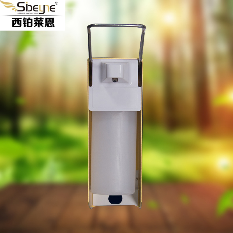 Genuine 2019 New Medical Equipment Q X 2267 Spray Disinfection Alcohol Elbow Pressure Soap Dispenser Hand Sanitizer Sterilizer