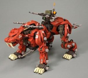 Image 3 - Bt 1/72ゾイドサーベルタイガーガンダム組み立てモデルアニメアクションフィギュアのおもちゃ組立誕生日クリスマスギフト