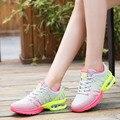 2016 fashion sport shoes brand casual shoes platform women shoes breathable woman trainers ladies footwear chaussure femme
