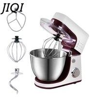 JIQI Electric Electric Bread Stand Dough Mixer Cream Egg Whisk Blender Chef Kneading Machine Commercal Food Milkshake Beater EU