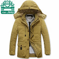 Nian AFS JEEP Wholesale Price Men's leisure Detachable Winter Loose Cargo Coats,Mutil Pockets Worker's Warmly Coat Motorcycle