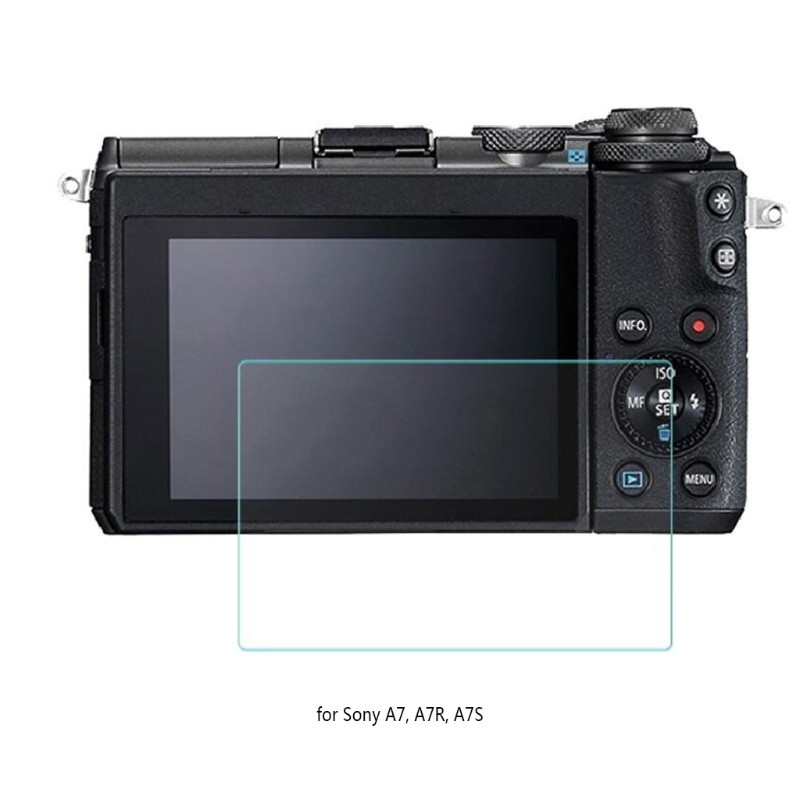 Camera Tempered Glass LCD Screen Protector Guard Cover Film For Sony A7R A7  A7S ce9bd22e14535