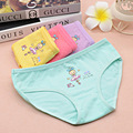 2pcs/Lot fashion children panties girls' cartoon briefs female child underwear  cartoon panties children clothing  Kids Panties