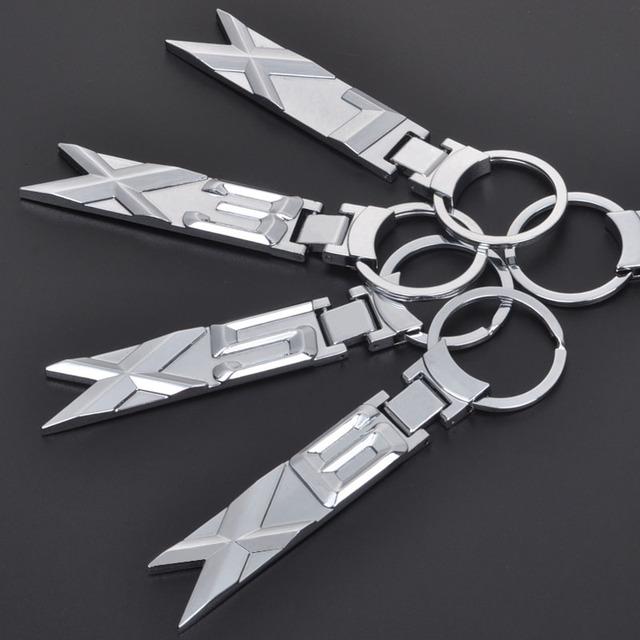 BMW X & Z Series Metal Keychains