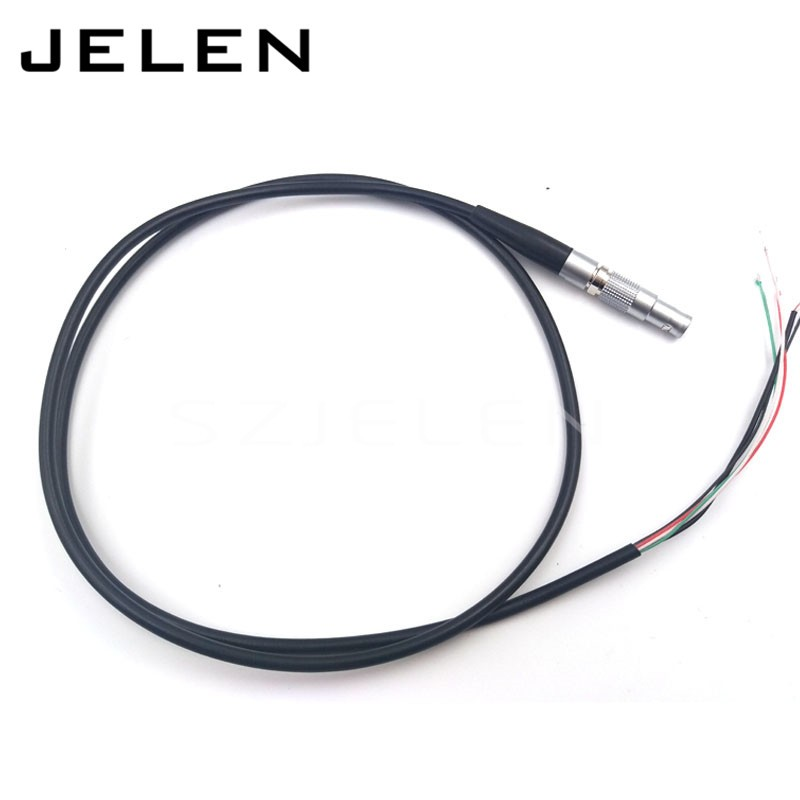 SZJELEN FGG.00B.304 4 pin plug, weld with 0.7 meter cable, voice frequency connector, cable plug, Camera plug extension cord lemo 1b 6 pin connector fgg 1b 306 clad egg 1b 306 cll signal transmission connector microwave connectors