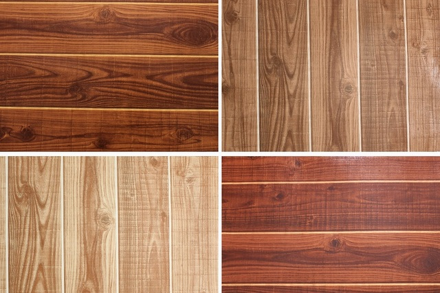 0.53*10Meters Wood Panel Plank Wallpaper Rolls Wall Paper Wall Mural (Not Self-adhesive)