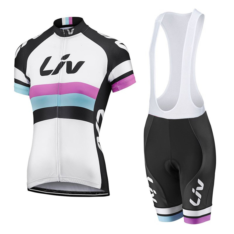 Prix pour Liv Vélo jersey 2016 femmes ropa ciclismo mujer manches courtes maillot ciclismo vtt vélo vêtements vélo vêtements de vélo de La Chine
