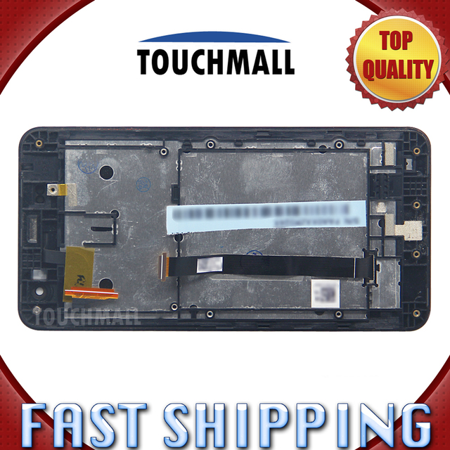 For New LCD Display Touch Screen with Frame Assembly Replacement Asus Zenfone 5 A500CG A501CG T00J Free Shipping