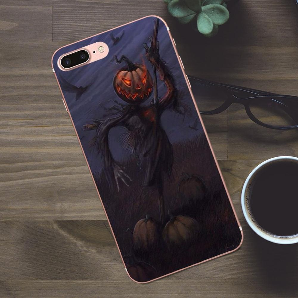 Phone Bags & Cases Qualified Maiyaca Halloween Scary Pumpkin Novelty Fundas For Iphone 4s 5s 6s Plus X Xr Xs Max Black Soft Shell Phone Case Rubber Silicone Cellphones & Telecommunications