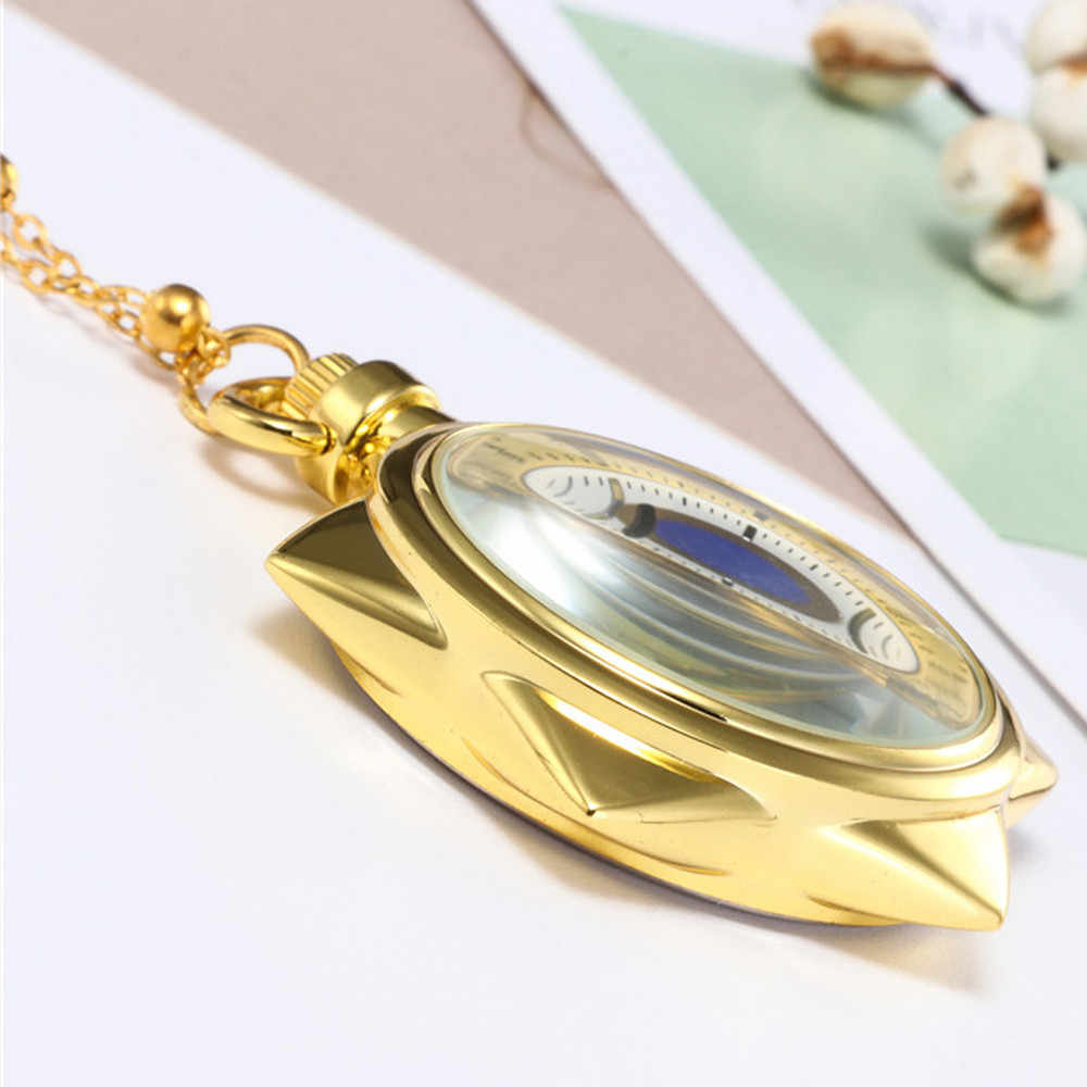 # 5002Five-Pointed כוכב יוניסקס אופנה ברונזה שרשרת שרשרת שעון כיס reloj skyrim חדש הגעה Freeshipping חם מכירות