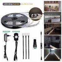 Sensky Motion Sensor LED Under Cabinet Lighting Kit Extendable Under Counter LED Light With Motion Sensor