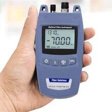 ミニ FTTH 2 · イン · 1 ファイバ光パワーメータと 10mW 10 キロ可視光源 TL520  70dBm 〜 + 10dBm FC/2.5 ミリメートル汎用インタフェース