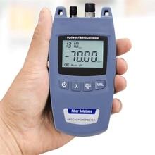 Mini FTTH 2 in 1 fiber Optik Güç Ölçer ve 10mW 10km Görsel Hata Bulucu TL520  70dBm ~ + 10dBm FC/2.5mm Evrensel arayüz
