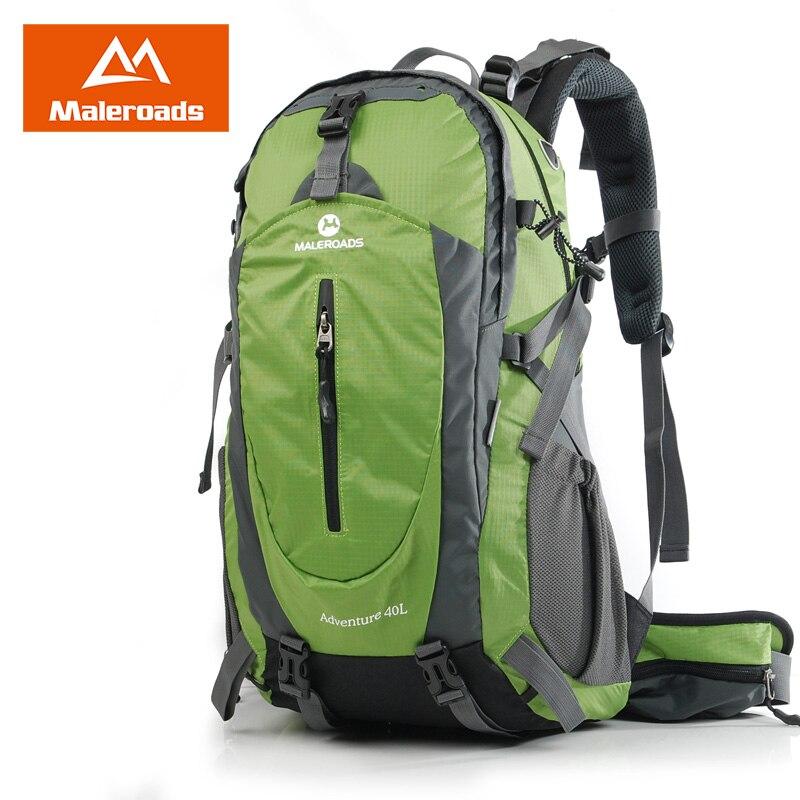 Incroyable Maleroads 40L 50L voyage sac à dos hommes femmes Trekking sac à dos étanche escalade alpinisme Camp équiper randonnée sac à dos - 6