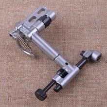 LETAOSK מושעה קצה מדריך תעשייתי מכונת תפירת שליט ערכת מתכת Fit עבור Consew אח זינגר הליכה רגל מכונת תפירה