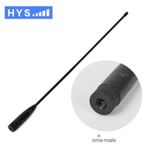 NA-771 144 / 430 MHz SMA-F 2.15dbi High-gain DUAL BAND Antenna for Baofeng GT-3 HandHeld walkie talkie Transceiver