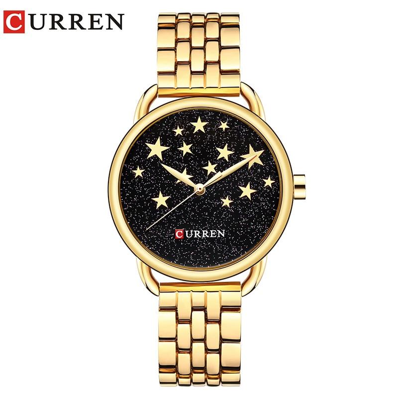 CURREN 9013 Creative Design Quartz Women Watches Casual Fashion Ladies Gift Wristwatch relogio feminino curren 9024 watch women casual fashion quartz wristwatches creative design ladies gift relogio feminino