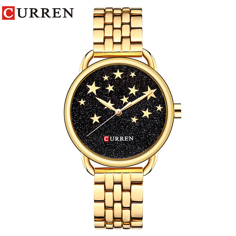 CURREN 9013 Creative Design Quartz Women Watches Casual Fashion Ladies Gift Wristwatch relogio feminino curren 03