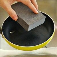 50 pçs/lote 100*70*25mm de Alta Densidade Nano Esmeril Magia Melamina Esponja Para A Limpeza De Artigos Para O Lar Cozinha Esponja remoção de Ferrugem Esfregue