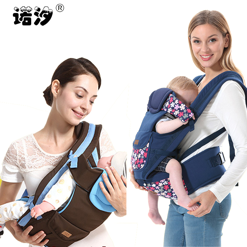 цена на baby backpack carrier new ergonomic baby sling Breathable multifunctional Front Facing kangaroo baby bag 0-48 months infant wrap