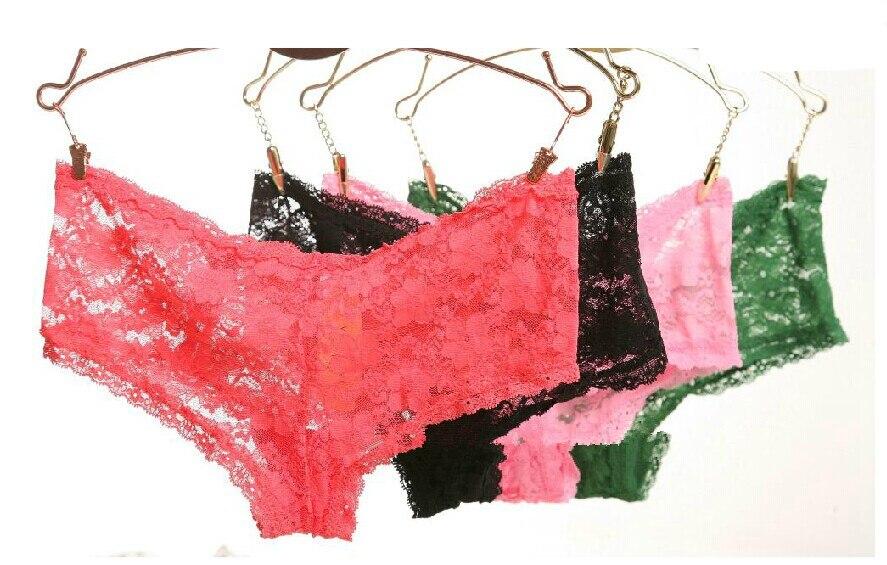 Sexy krajkové kalhotky Spodní prádlo Ženy Sexy kalhotky 2017 Kalhotky Dámské spodní prádlo Bezproblémové krajkové spodní prádlo Květinové spodní prádlo