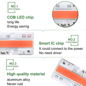 Image 5 - COB LED Grow Chip Phyto Lamp Full Spectrum AC220V 110V 20W 30W 50W 70W For Indoor Plant Seedling Grow and Flower Growth Fitolamp