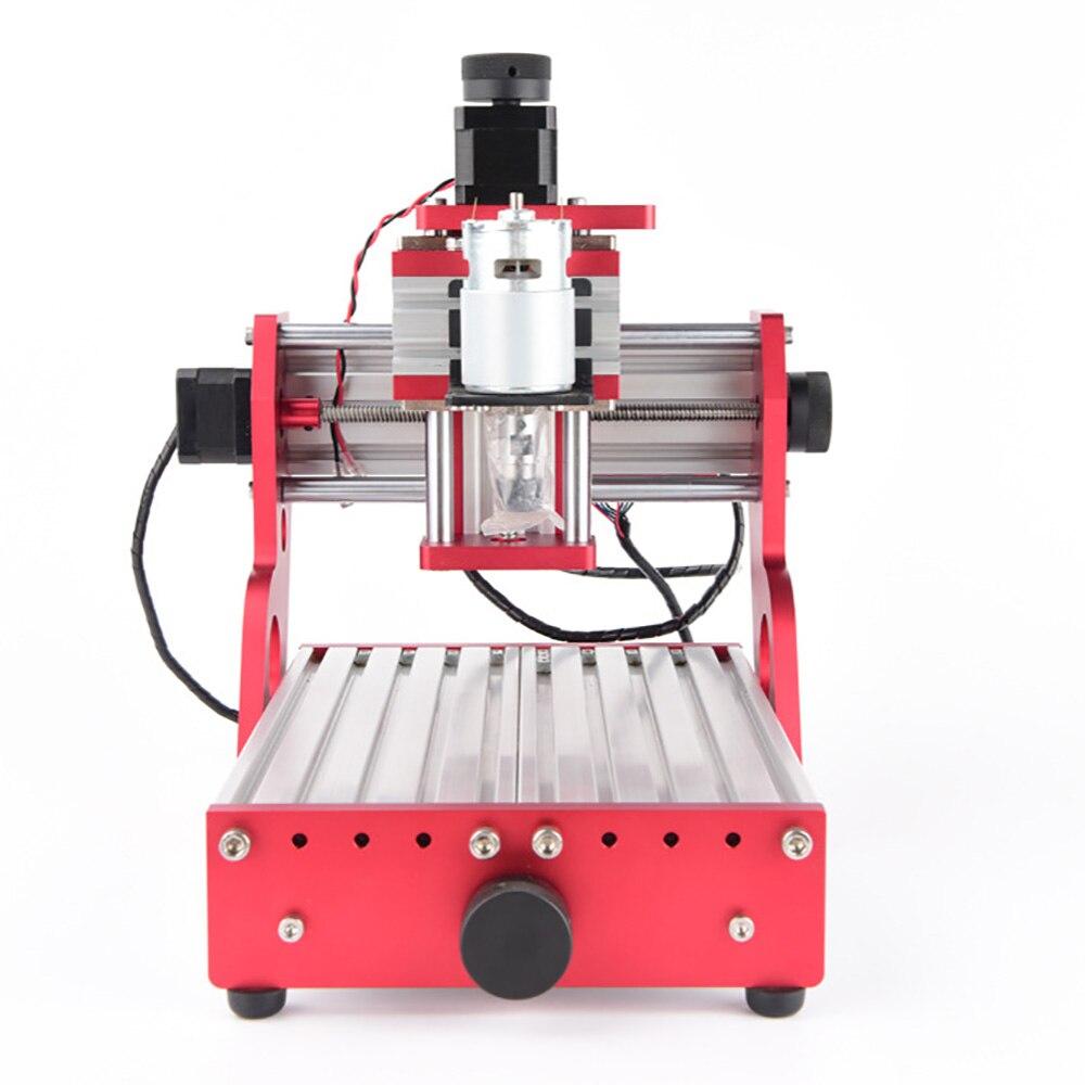 CNC 1419 en aluminium coupe pcb Machine de gravure petites Machines de CNC pour fer de bureau en métal cuivre bois Route outil de gravure - 2