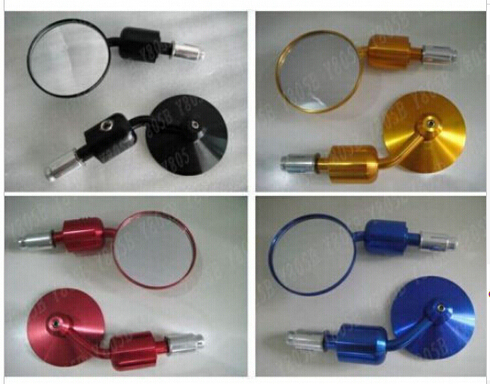 Motorcycle Accessories & Parts Cnc Motorcycle 7/8 Bar End Mirrors For Yamaha Yzf Honda Kawasaki Suzuki Harley Bmw Ktm Ducati Triumph Buell Bobber All Models Relieving Rheumatism And Cold Frames & Fittings