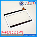 Новый 10.1 ''дюймовый Pipo M9 F-WGJ10136-V1 Сенсорный Экран Сенсорная панель датчик Дигитайзер Стекла Замена для PIPO МАКС M9 WIFI Tablet пк