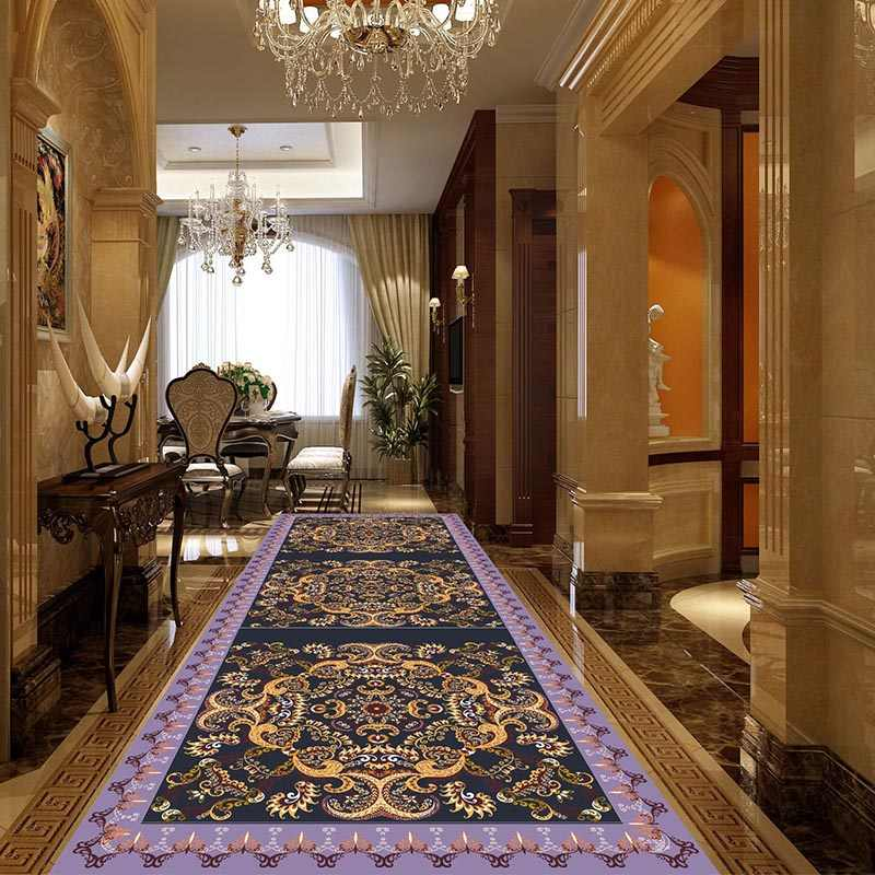 Large Stair Hallway Carpet Tapis Couloir Moroccan Rug Tapis Salon   Carpet For Stairs And Hallway   Hardwood   Stylish   Upstairs   Popular   Hollywood Style