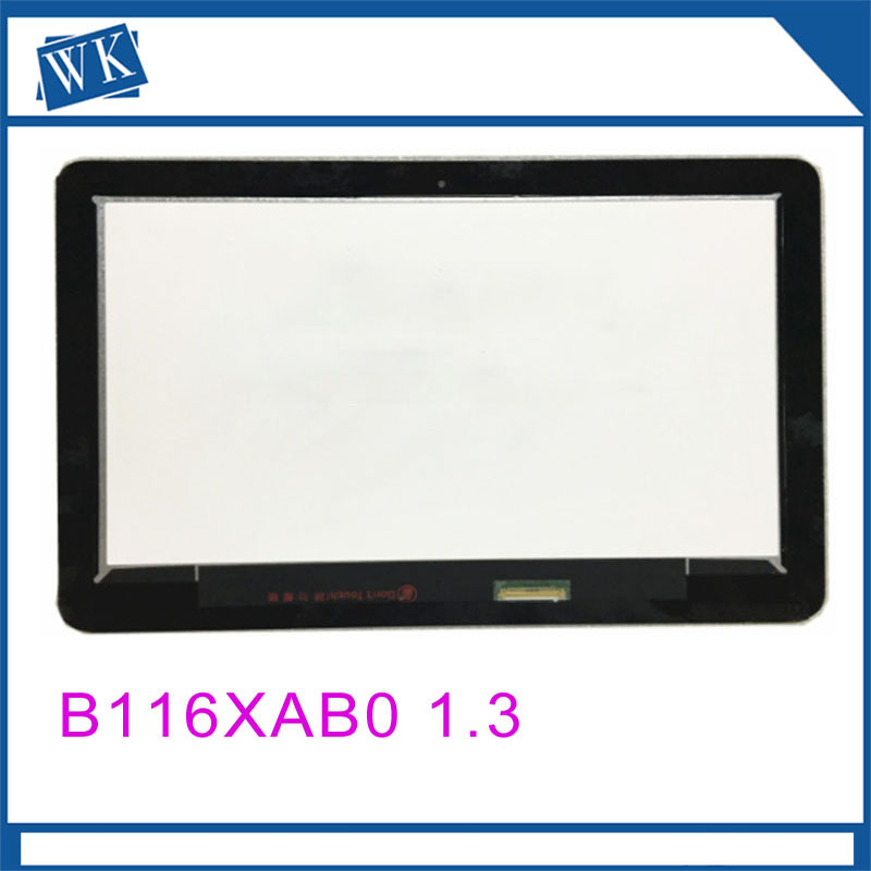 Free shipping 11.6inch LCD Touch Screen Digitizer Assembly Fit For HP Probook x360 11 G B116XAB01.3 Laptop Lcd ScreenFree shipping 11.6inch LCD Touch Screen Digitizer Assembly Fit For HP Probook x360 11 G B116XAB01.3 Laptop Lcd Screen