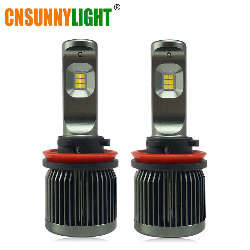 CNSUNNYLIGHT LED Car Fog Light Bulbs 3000K 6000K Dual Colors Switchable H11/H8 9005 H7 Switchback Lighting Colors Auto Foglamps